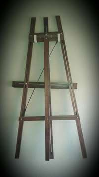 Image of Wooden Artist Easel as good as new