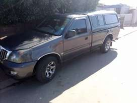 Selling my bakkie with brand new 4y engine  and gearbox