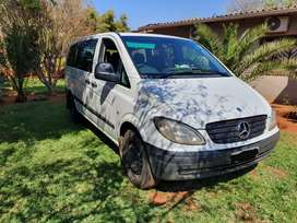 Mercedes Benz vito crew bus