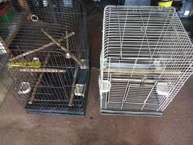 Two parrot cages for sale