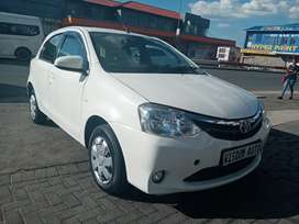 2016 Toyota Etios 1.5L in great condition