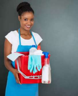 YOUNG AND VIBRANT DOMESTIC WORKER