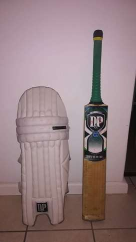 Cricket equipment bats and pads for sale