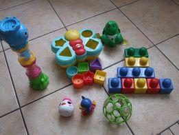 Zestaw zabawek dla malucha sorter Fischer Price Lego wieża do kąpieli