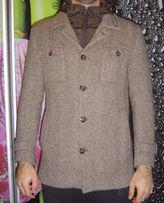 Пальто мужское шерстяное молодёжное