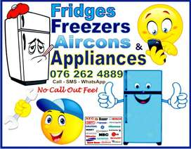 On Site Fridge / Freezer, Aircon and Appliance Repairs