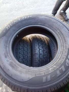 Dunlop 195/R14 is available now 4 tyres for sale