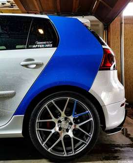 Partial Vehicle Wrapping And Car Vinyl