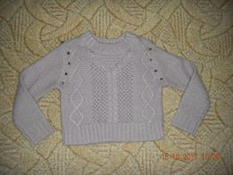 Теплый свитер с шипами на девочку,Испания