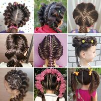 Уникальные праздничные прически, Плетение кос