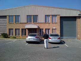 TO LET: 1,249 SQM INDUSTRIAL WAREHOUSE IN MEADOWDALE, EDENVALE AREA