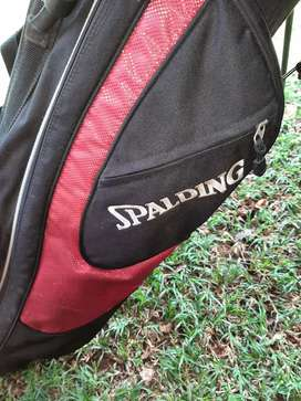 Spalding golf set with trolley
