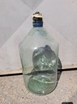 Стеклянный бутыль для вина 20 литров