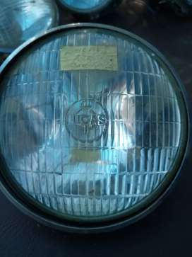 Head lamp, Lucas, for old car