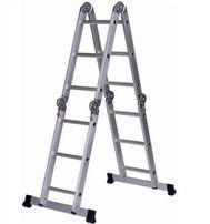 Лестница алюминиевая Трансформер 4х3 ( Италия) 150 кг гаратния