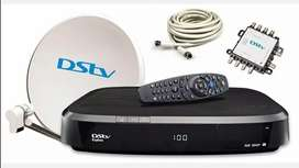 We work on side in this lockdawn period TV, dstv, oven, stove, fridge