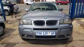 BMW x3 3.0d and sunroof leather seat