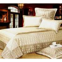 Image of Leather Duvet Cover Set