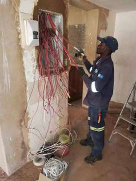 Experienced electrician.