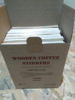 VIP! 2 мм!!!Мешалка деревянная для кофе.