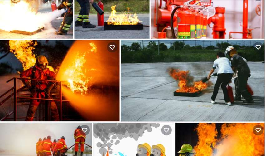 FIRE FIGHTING LEVER 1-3 TRAINING AT LTC