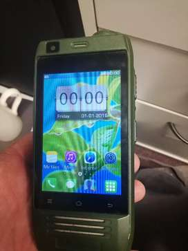 Camping cell phone with power bank.