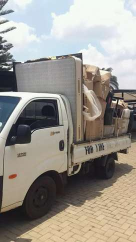 Truck and bakkie available for hire
