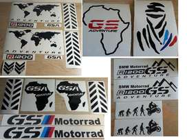 GS Pannier decals graphics / vinyl cut stickers