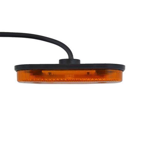 Lampa obrysowa LED ledowa obrysówka pomarańczowa bus przyczepka Częstochowa - image 3