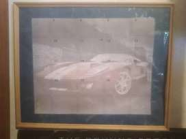 Ford GT, framed picture