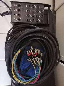 30m EWI 16 channel in and 4 return snake for sale