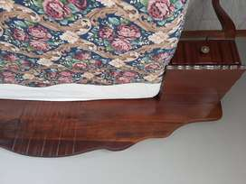 Headboard  and two side tables