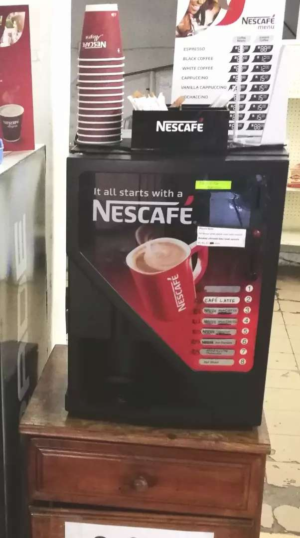 Lioness Coffee Vending Machine 0