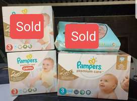 Pampers Premium Care Size 3 Nappies (Save up to R178)