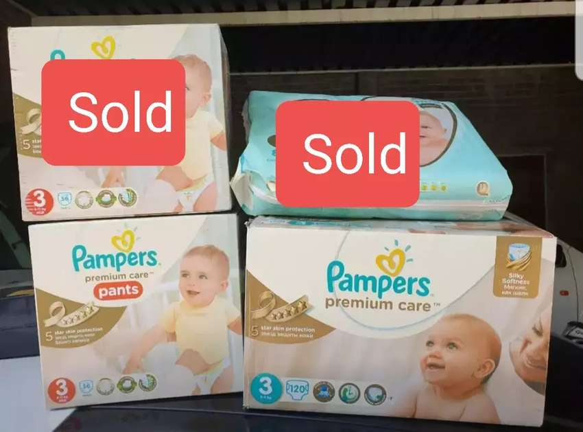 Pampers Premium Care Size 3 Nappies (Save up to R178) 0