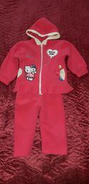 Продаю детский флисовые костюмчик на 1-2 годика