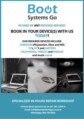 Laptop And Desktop Repairs And Services