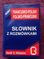 Słownik z rozmówkami. franscusko-polski/polsko-francuski