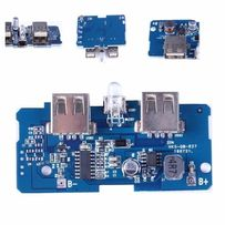 Модуль плата для изготовления повербанка с повышением выход USB 5 В 2A