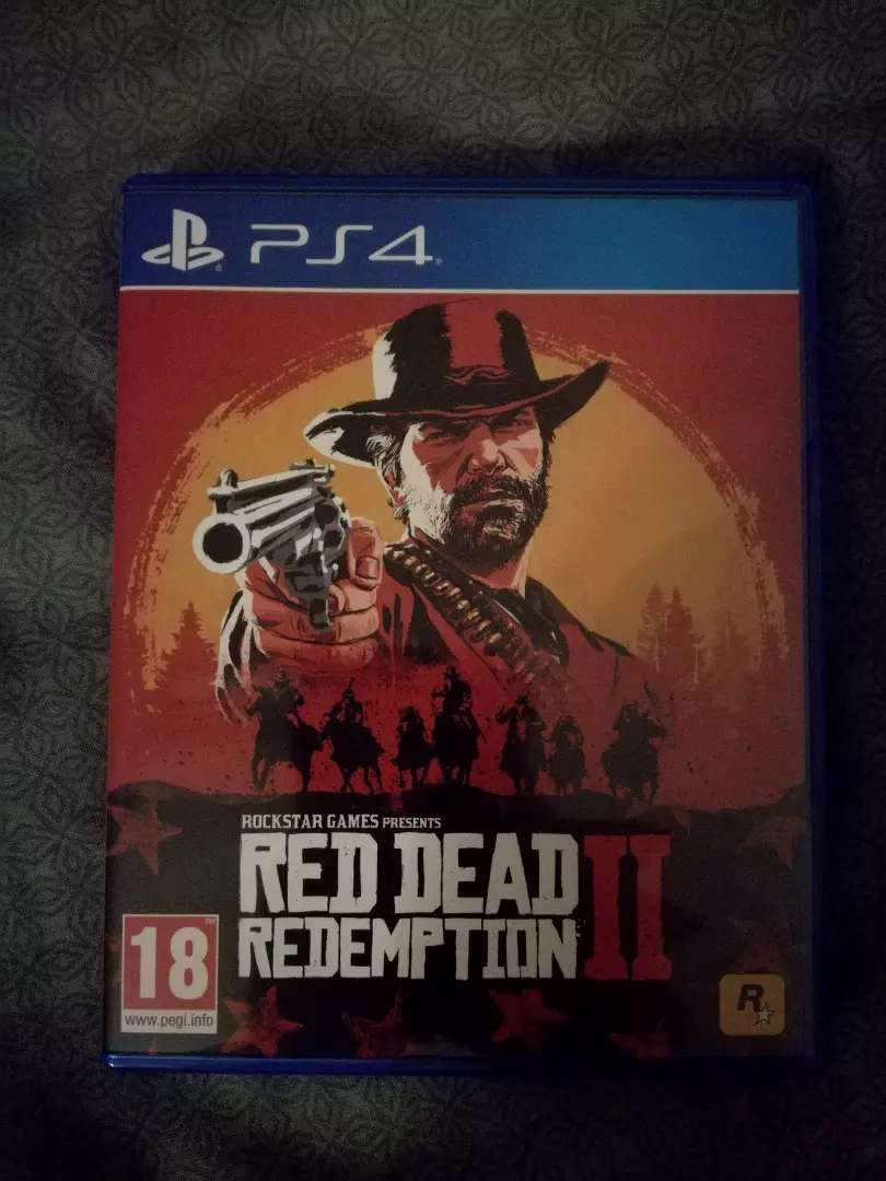 Red Dead Redemption 2 on PS4 R550 0