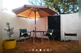 FULLY FURNISHED, PET FRIENDLY, upmarket bachelors flat to rent