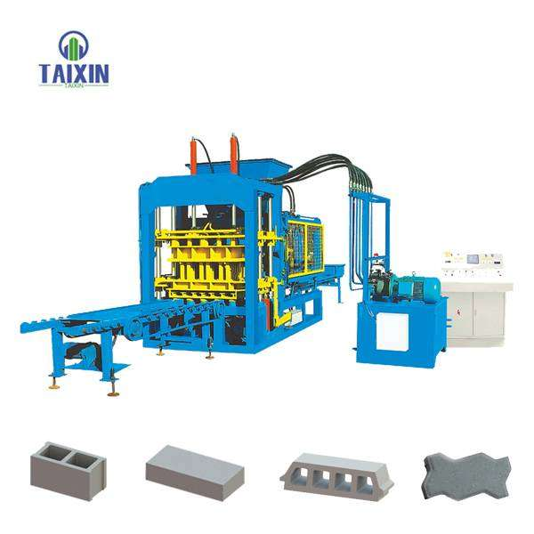 QT6-15 automatic hydraulic block machine 0