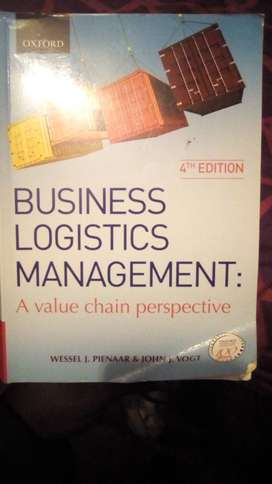Business Logistics management: A value-chain perspective (4th edition)