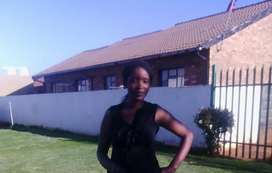 A Lady looking for a job as a domestic worker, house maid/babysitter