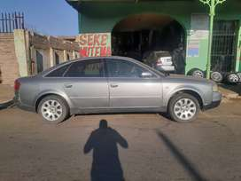 AUDI A6 2.4 STRIPPING FOR PARTS AND ACCESSORIES