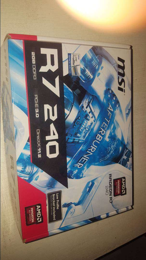 Brand New MSI R7 240 2gb graphics card 0