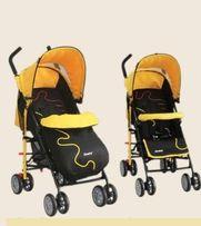 Прогулочная коляска+подарок мягкие игрушки