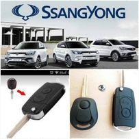 Выкидной корпус ключа Сангйонг SsangYong Actyon,Sport,Rexton,Kyron.