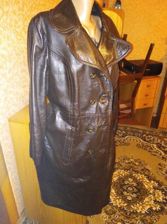 Шкіряний плащ 56розміру Башлыки - изображение 3