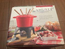 Smukee zestaw do fondue nowy